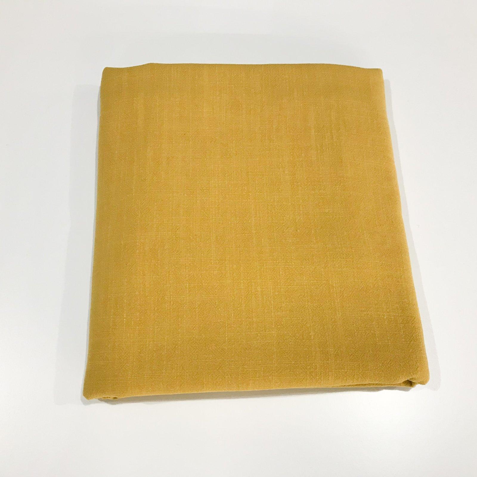 1 5/8 yards - Grace Viscose and Linen Blend - Mustard