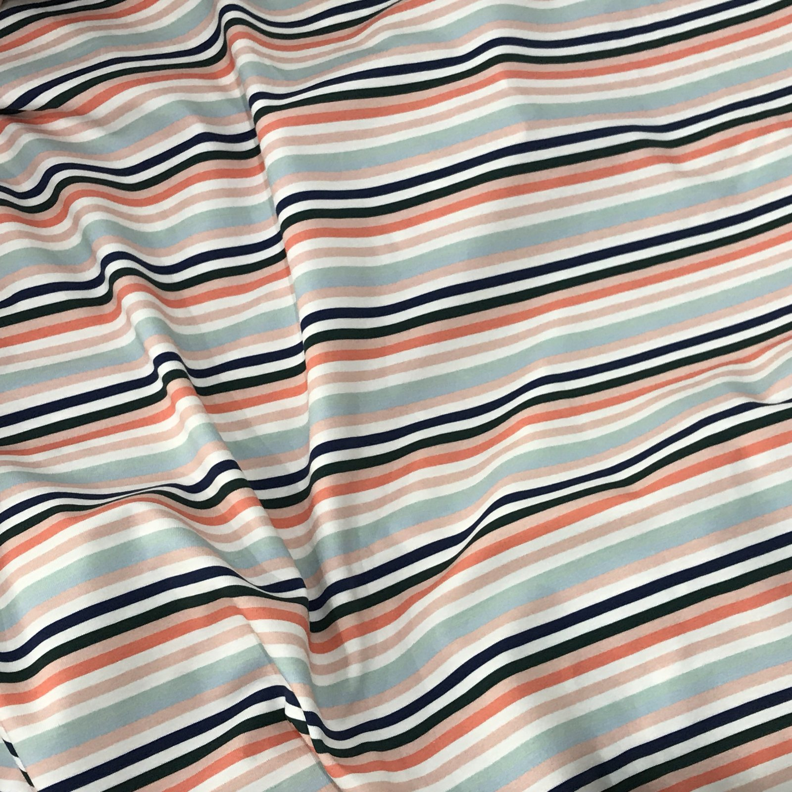 Cotton Knit - Summer Stripes