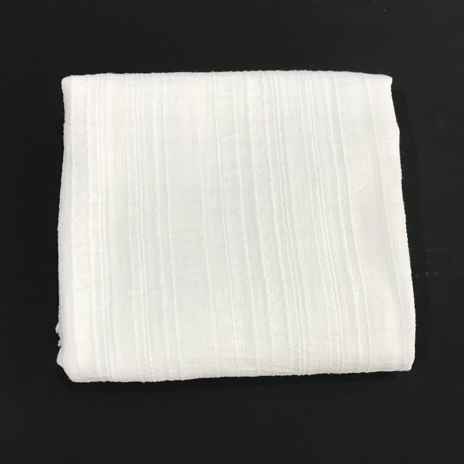 1 7/8 yards - Cotton - Gauze and Embroidery - White