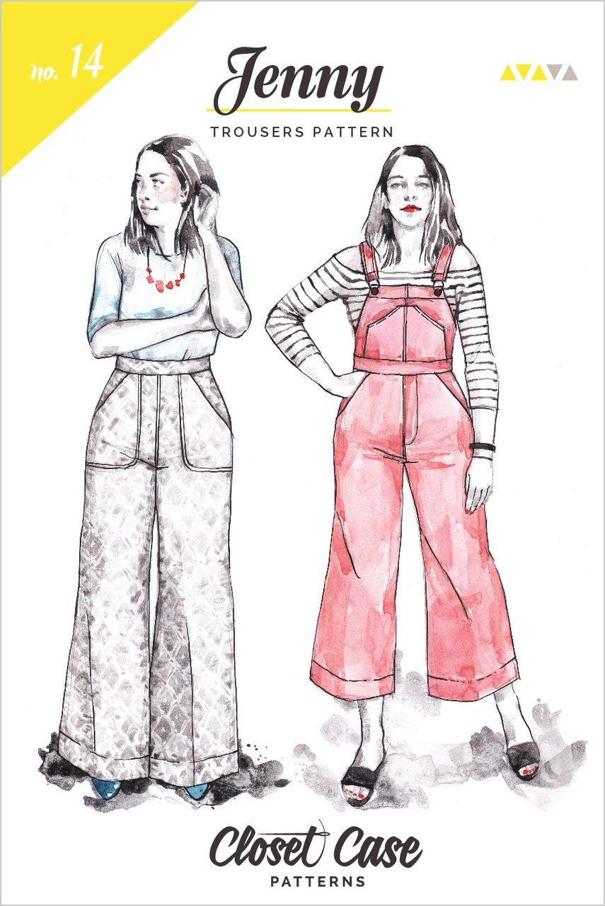 Closet Case nka Closet Core - Jenny Overalls & Trousers
