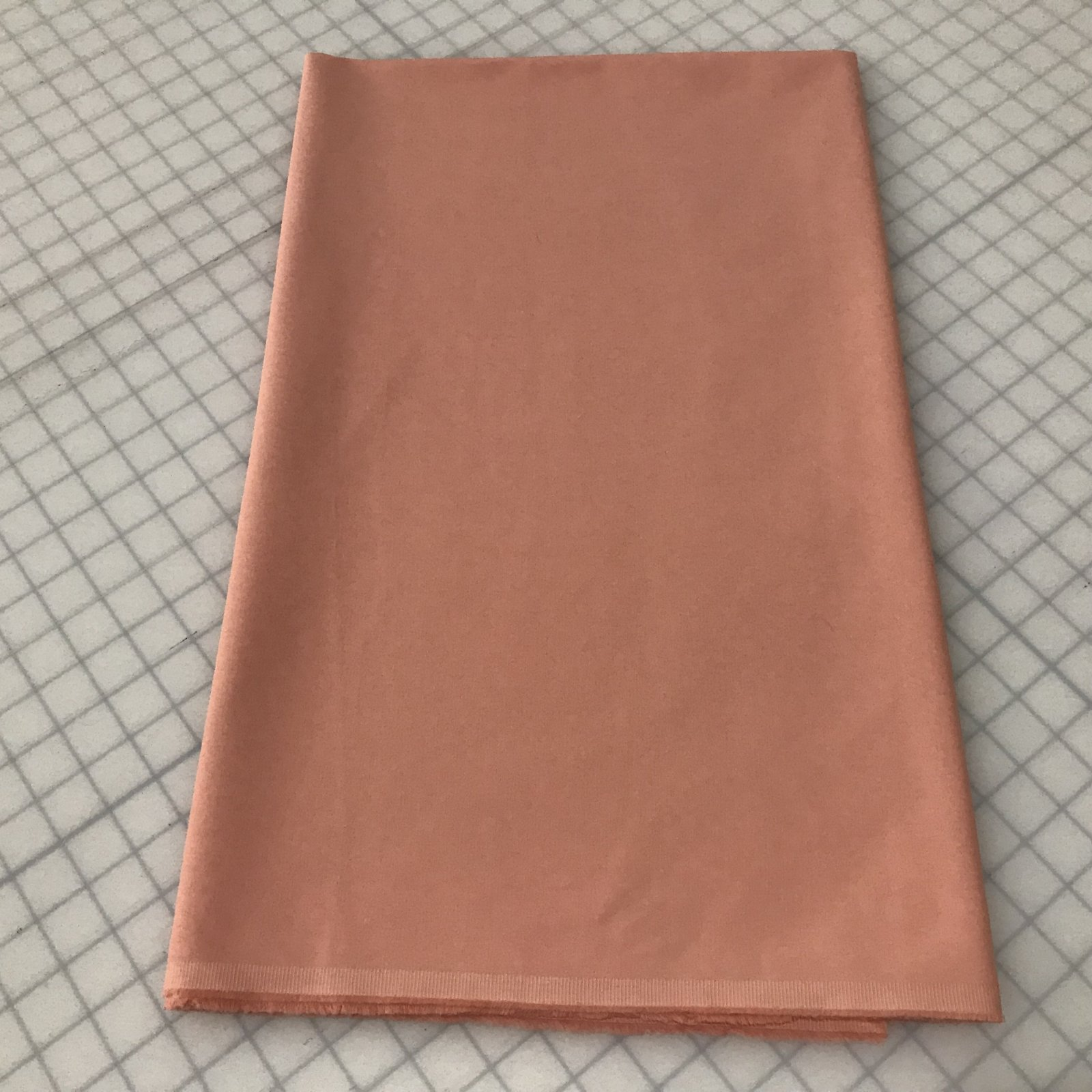 Stretch Poplin - Peach - 1 1/2 yards