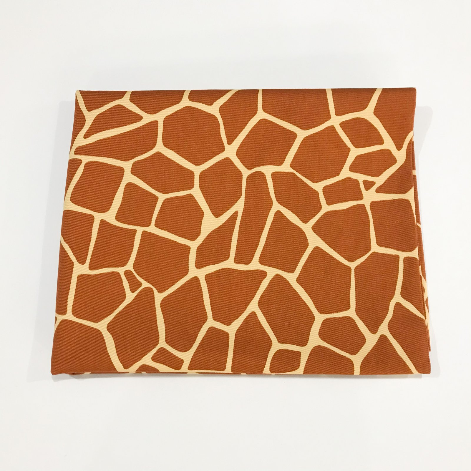 1 yard - Cotton Japanese Giraffe Print Twill