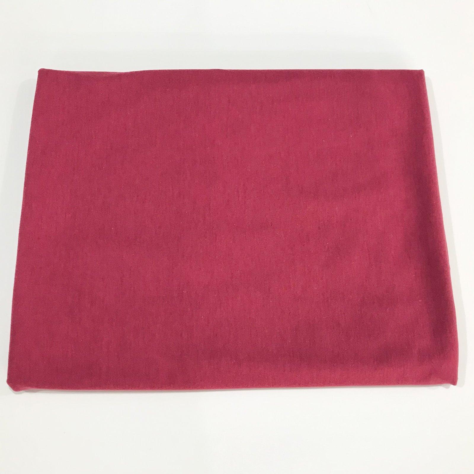 1 1/2 yard - Cotton-Modal Knit - Dark Rose