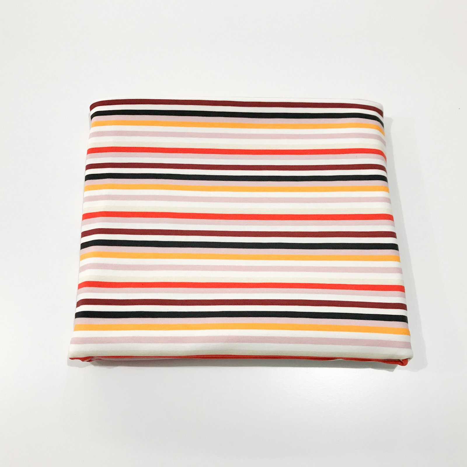 1 yard + 21 inches - Cotton Knit - Bold Stripes
