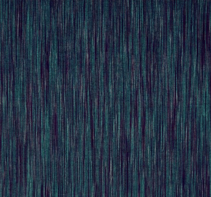 Ombre Yarn Dyed Ikat - Green & Violet