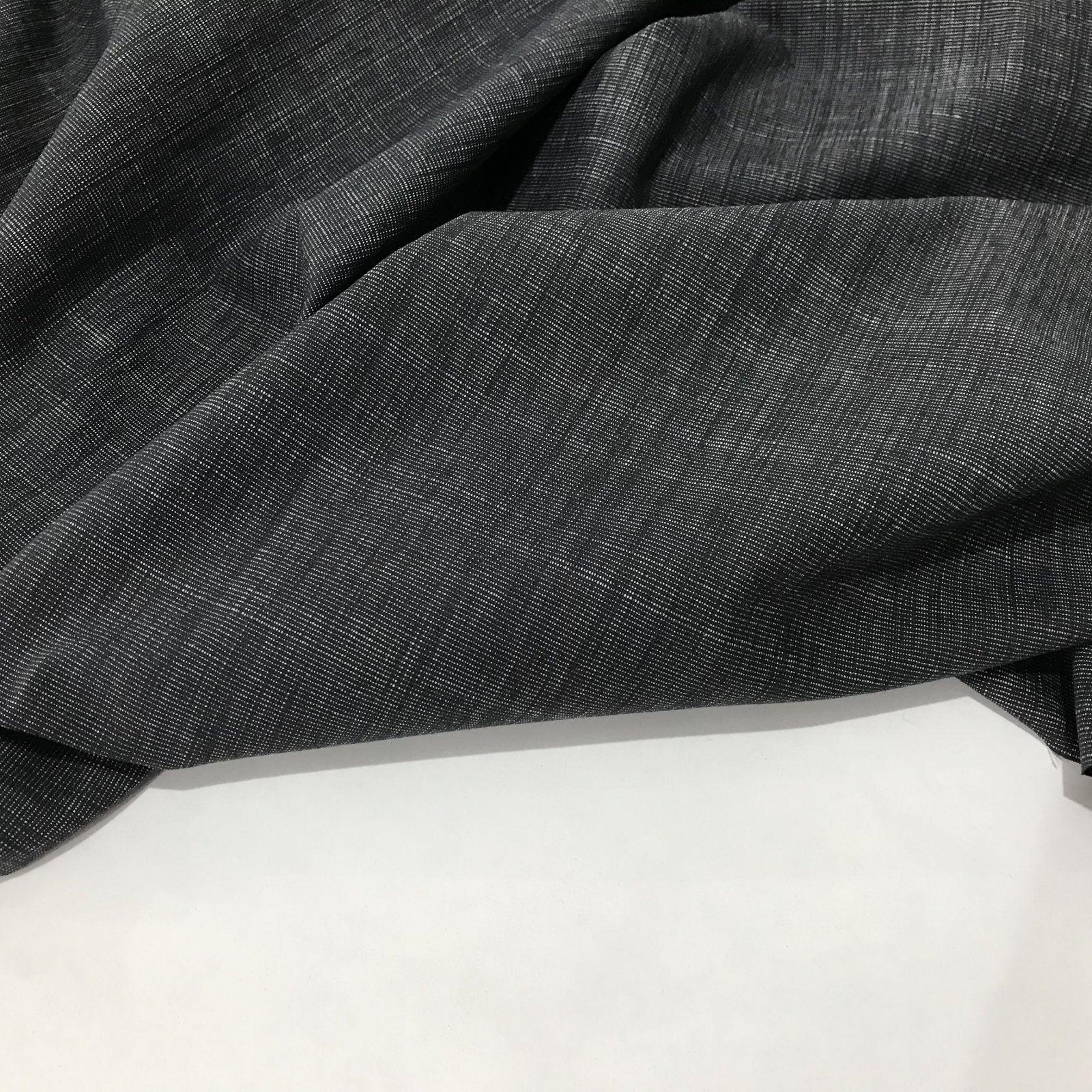 Cotton - Black Texture Weave