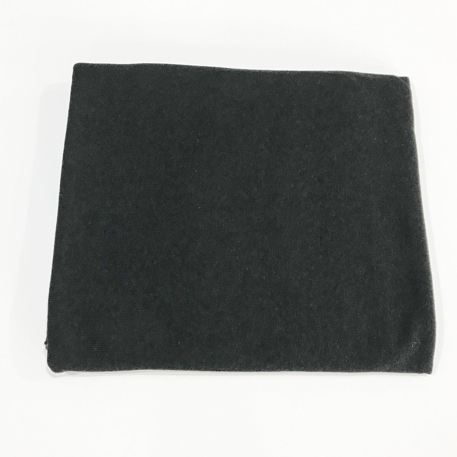 1 1/8 yard - Sweater Knit - Black Knight
