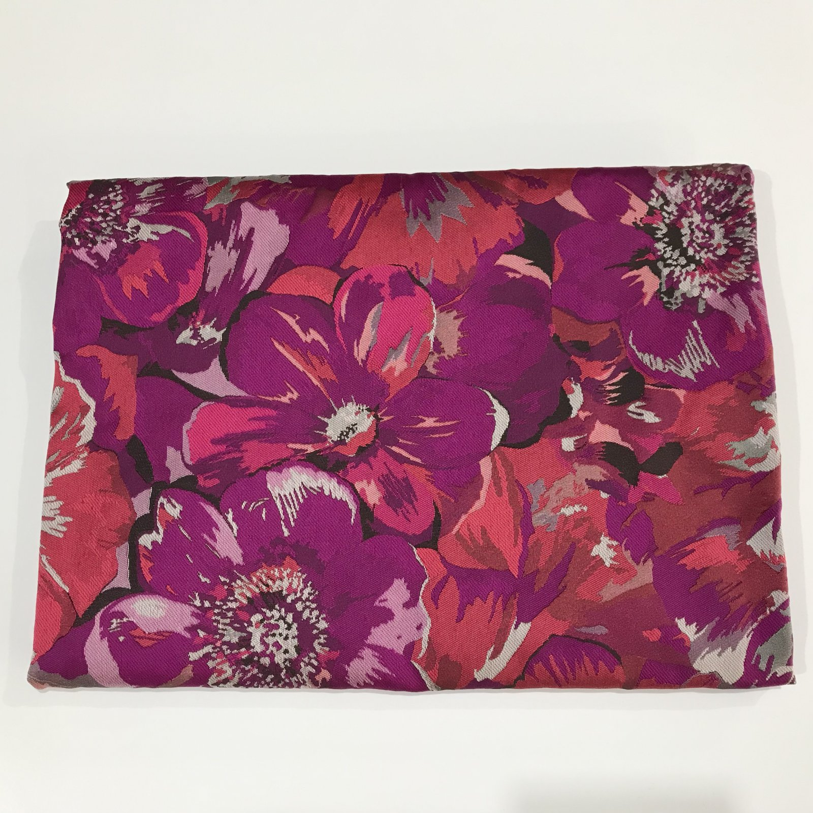 1 yard - Floral Jacquard