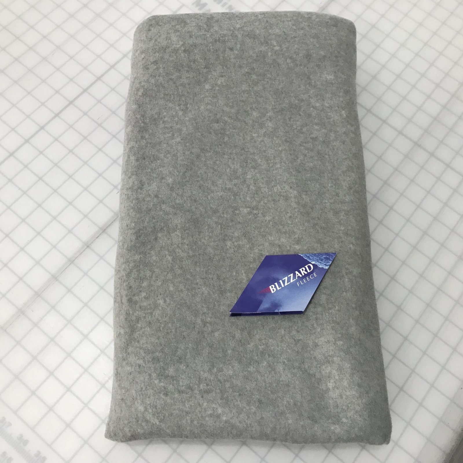 Blizzard Polar Fleece - Gray - 2 1/8 yard
