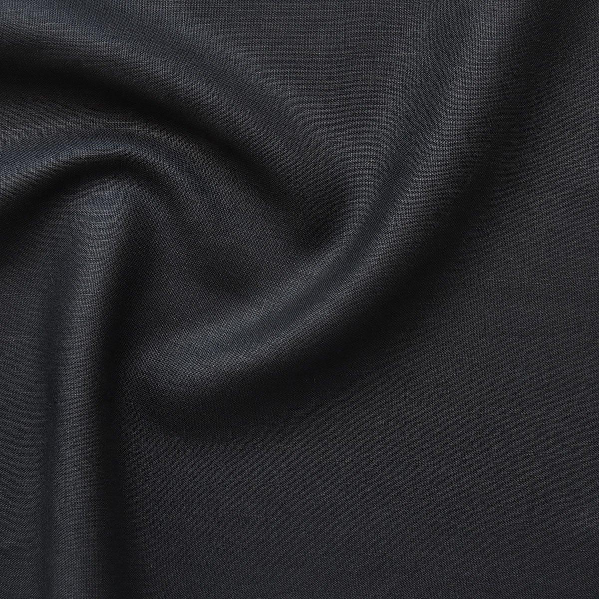 Mid-weight Linen - Black