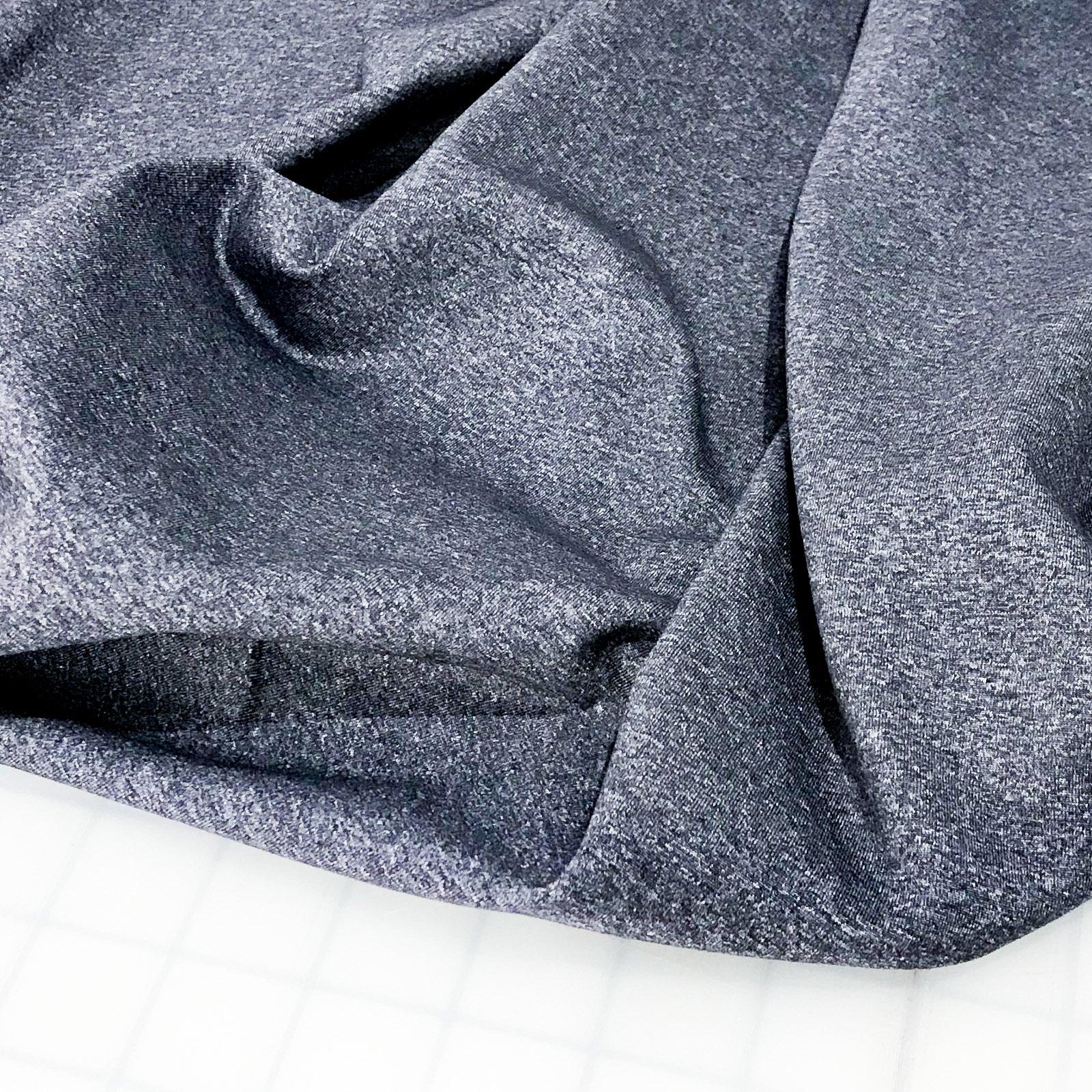Dharma Stretch Supplex - Heathered Denim Blue