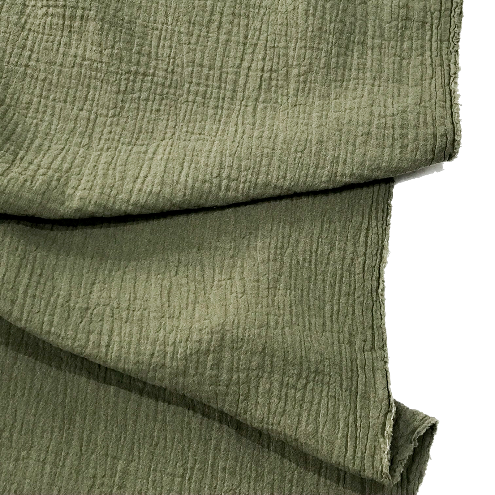 Cotton Double Gauze - Olive
