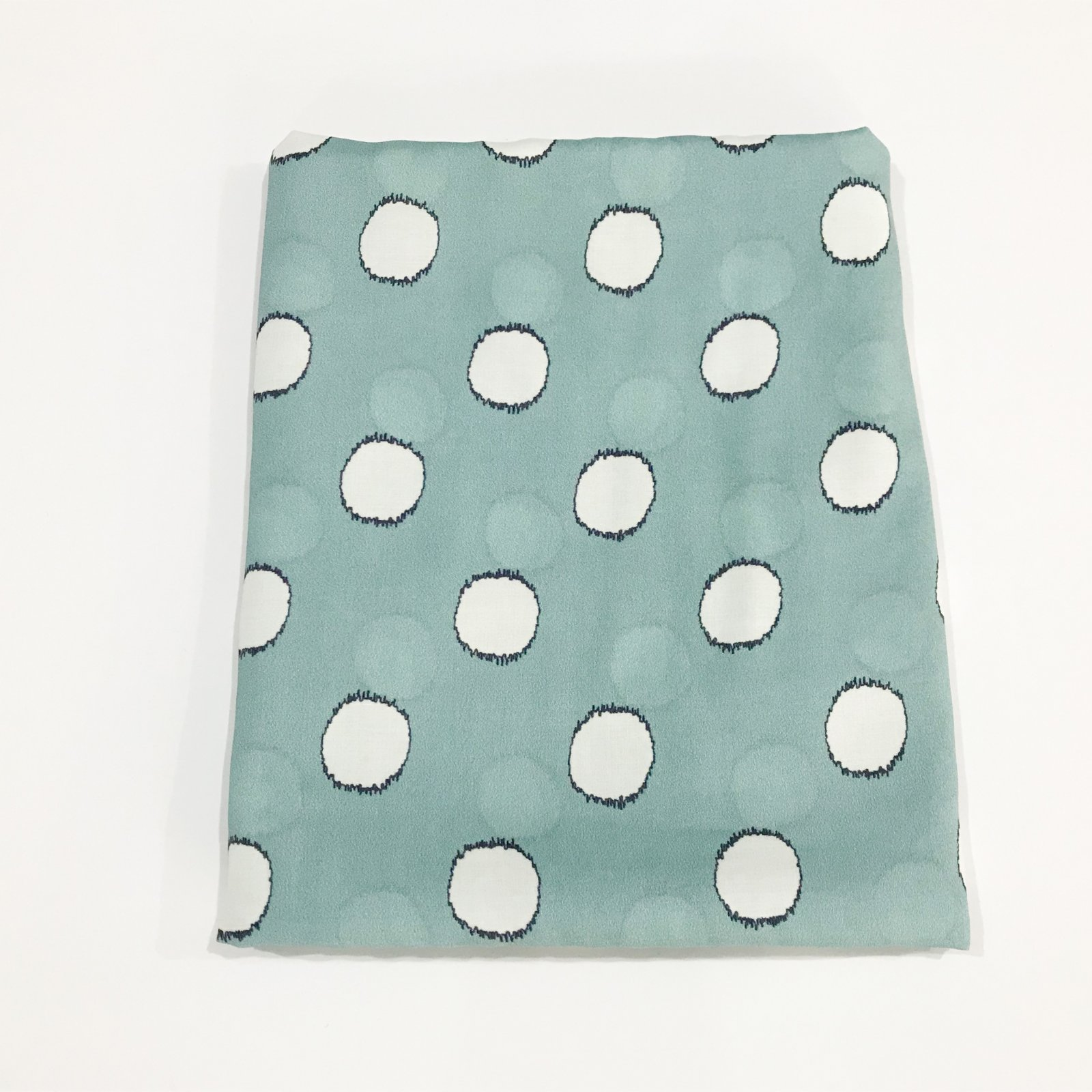 2 1/3 yards - Lady McElroy - Spot the Difference in Spearmint