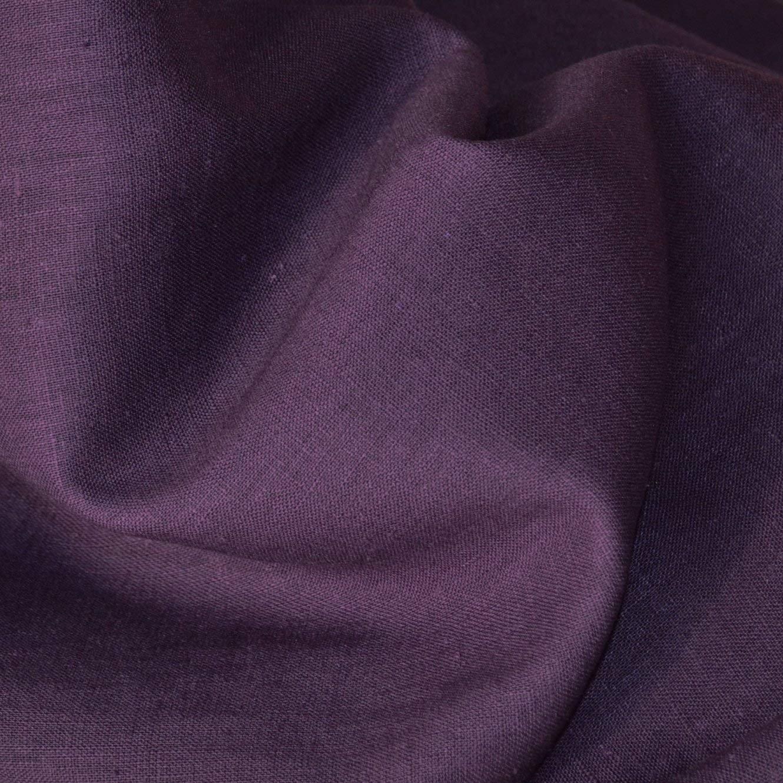 Linen - 100% - Eggplant