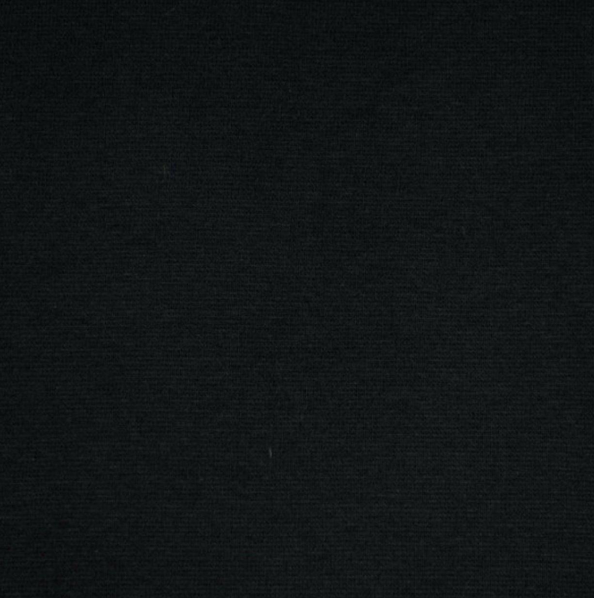 T Shirt Ribbing - Black