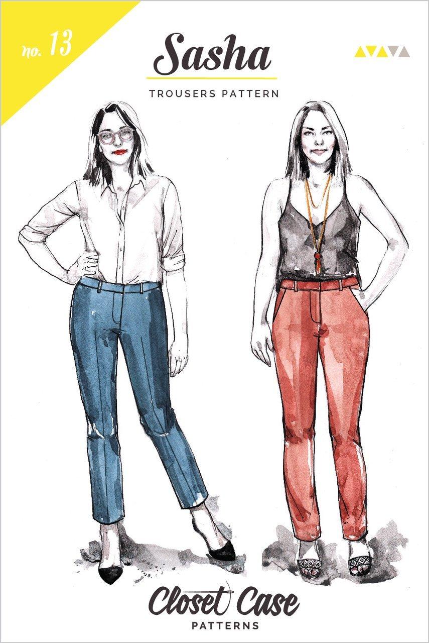 Closet Case nka Closet Core - Sasha Trousers Pattern