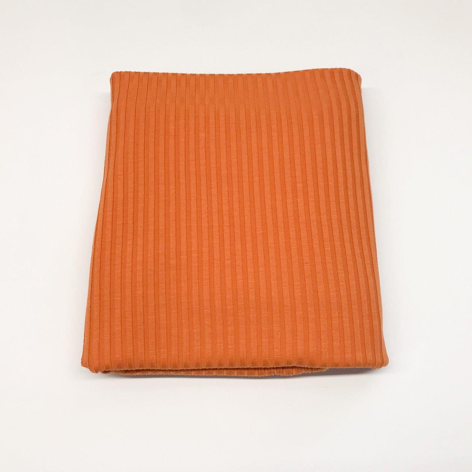 1 3/4 yards - Tencel Knit Ribbing - Orange