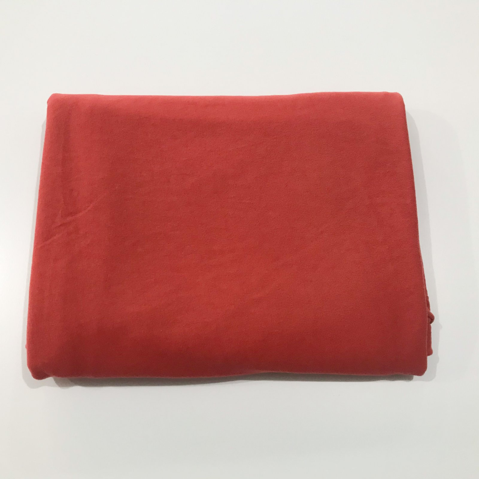 1 yard + 34 inches - Organic Jersey Knit - Rubi Red