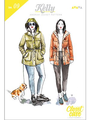 Closet Case Pattern - Kelly Anorak Jacket