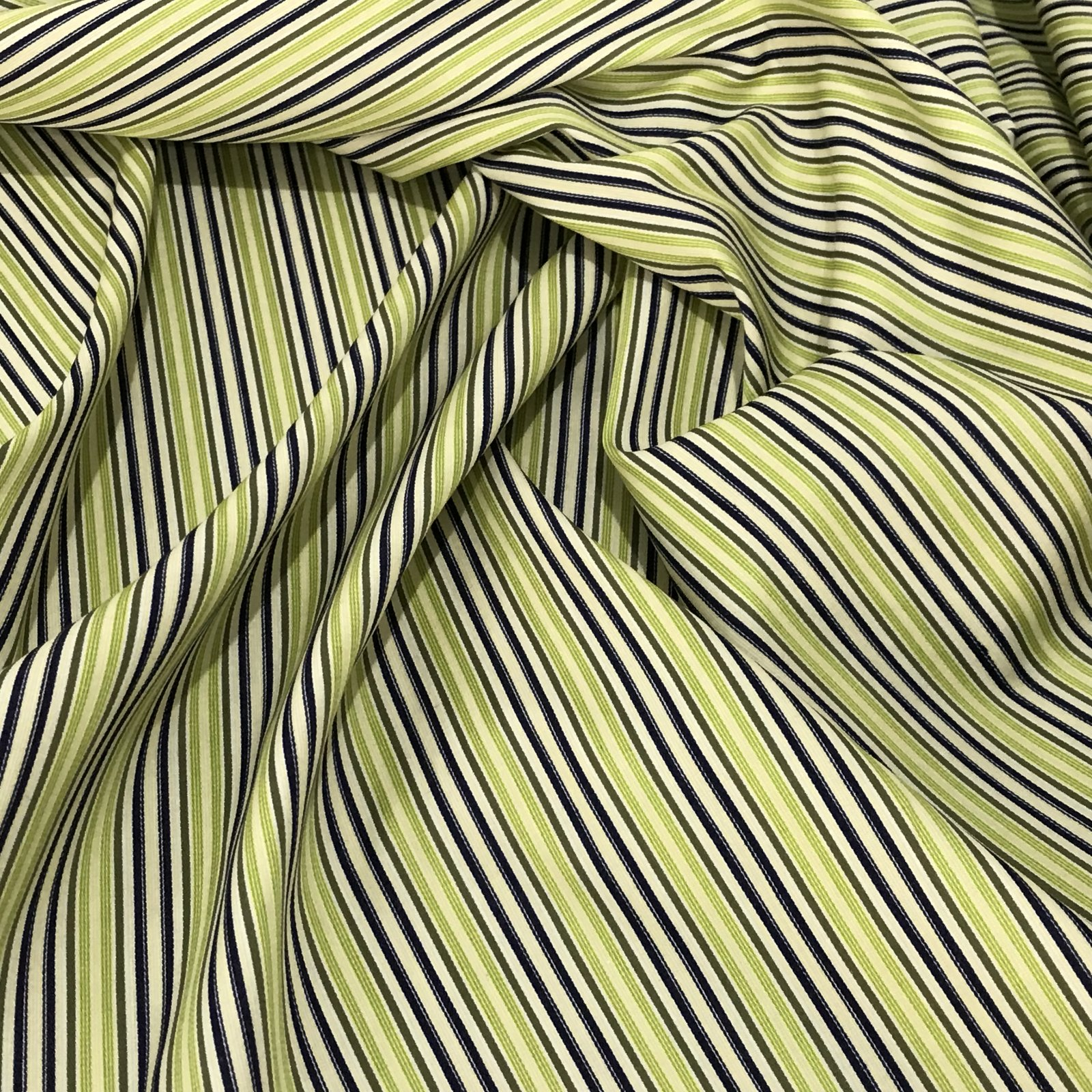 Cotton - Bright Spring Stripes