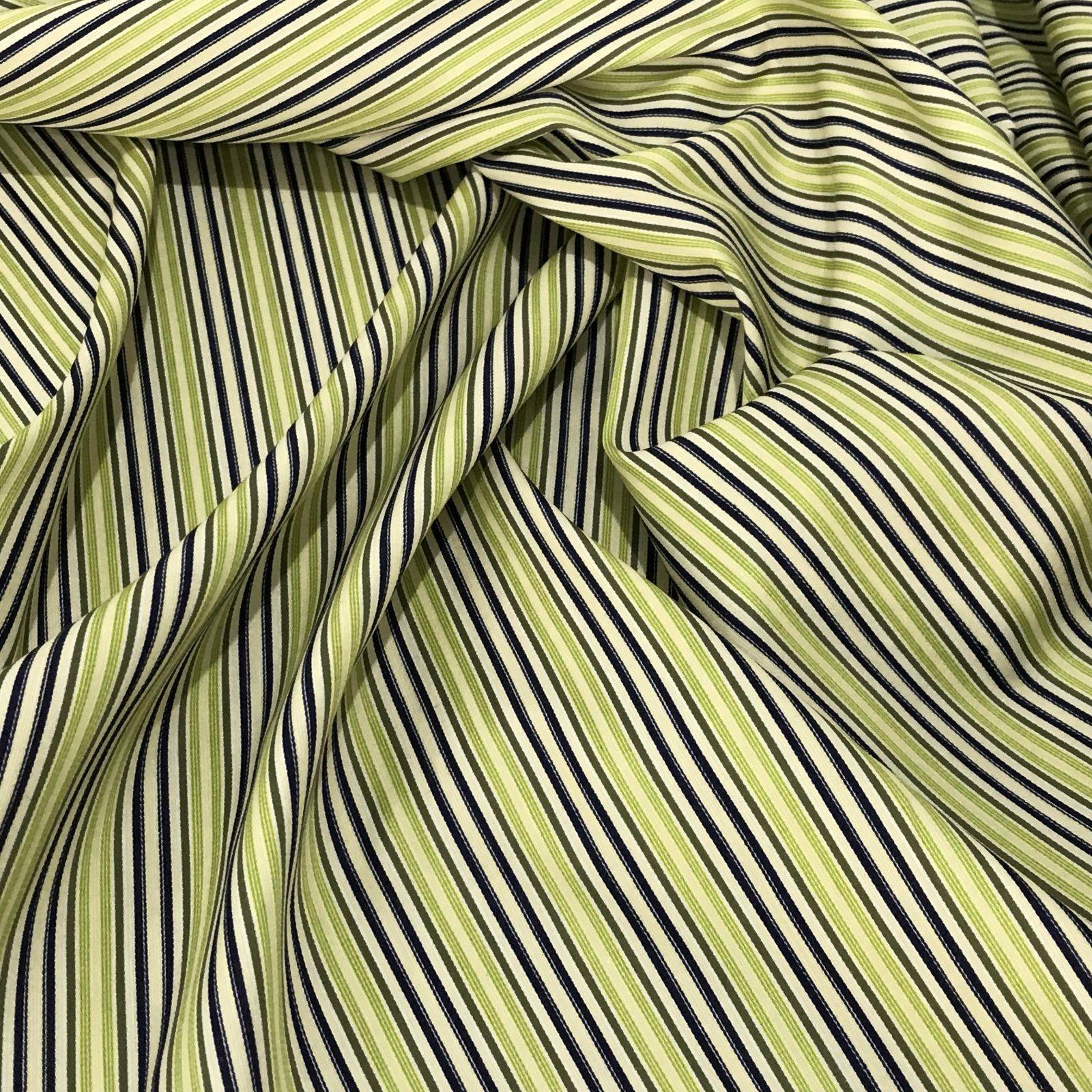 Cotton - Bright Spring Stripes