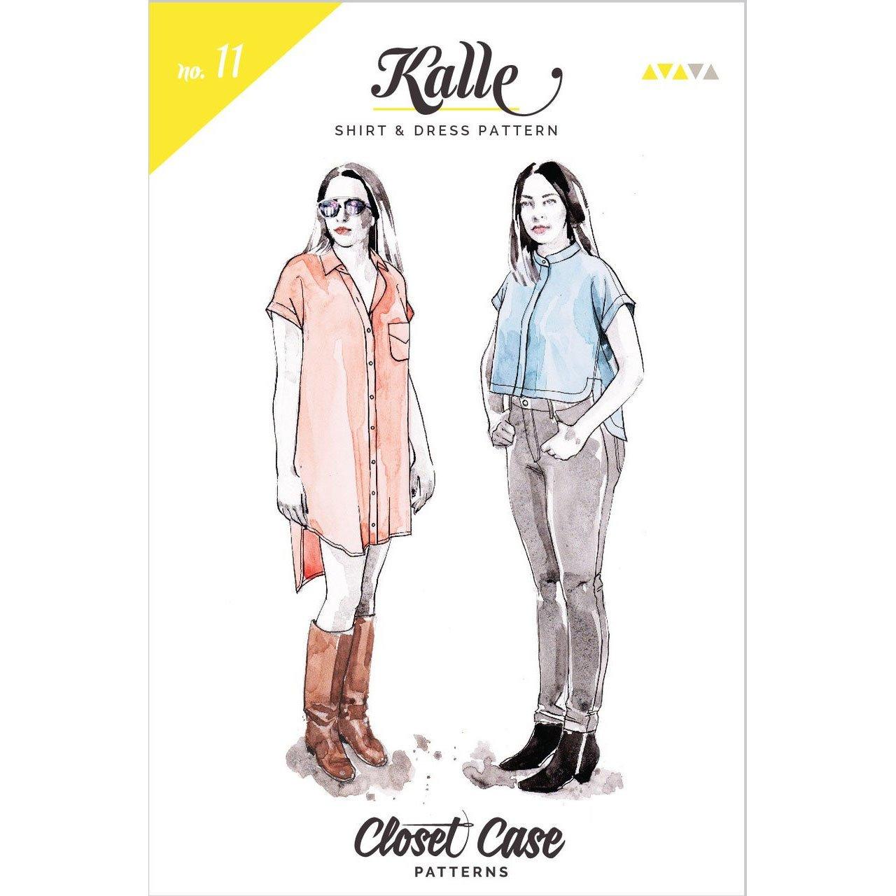 Closet Case nka Closet Core - Kalle Shirt & Shirtdress