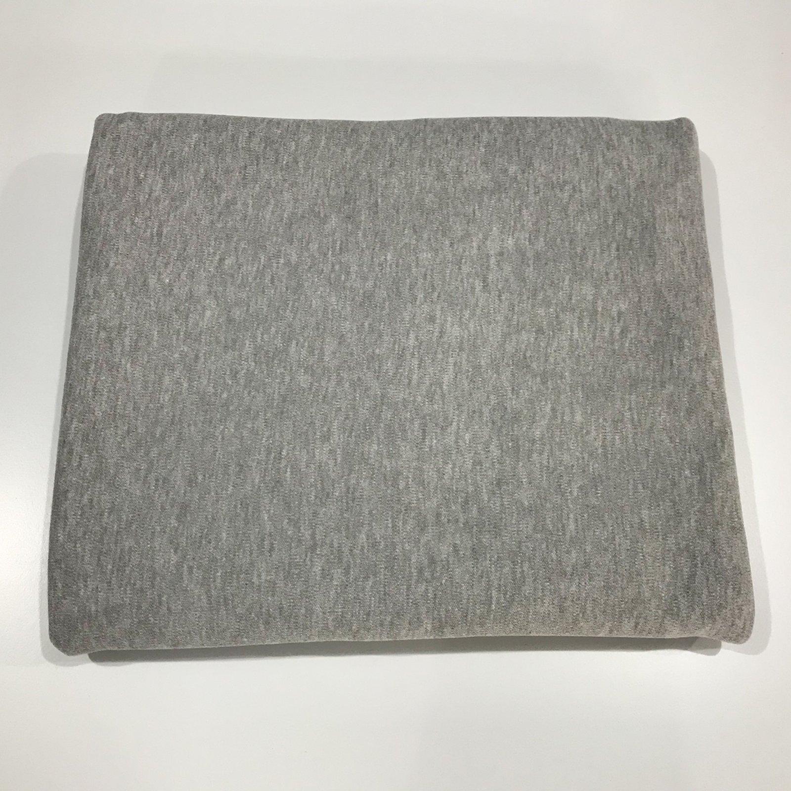 2 yards + 3 inches - Interlock - Grey