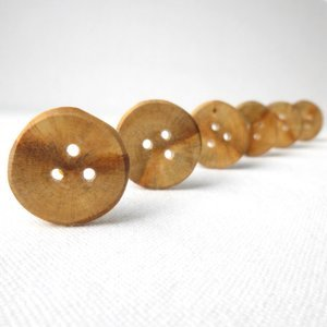 Buttons - Spalted Oak Buttons