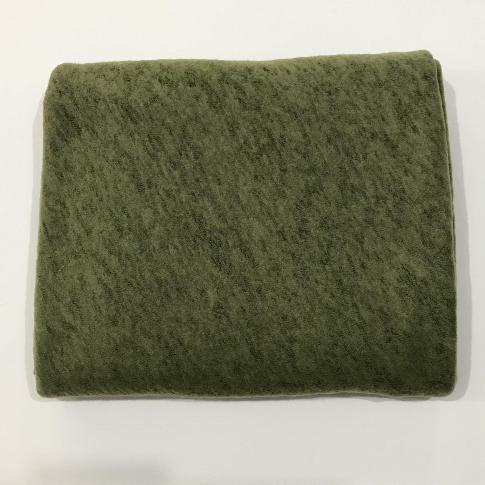 Slub Sweater Knit - Grass Green - 2 1/4 yards