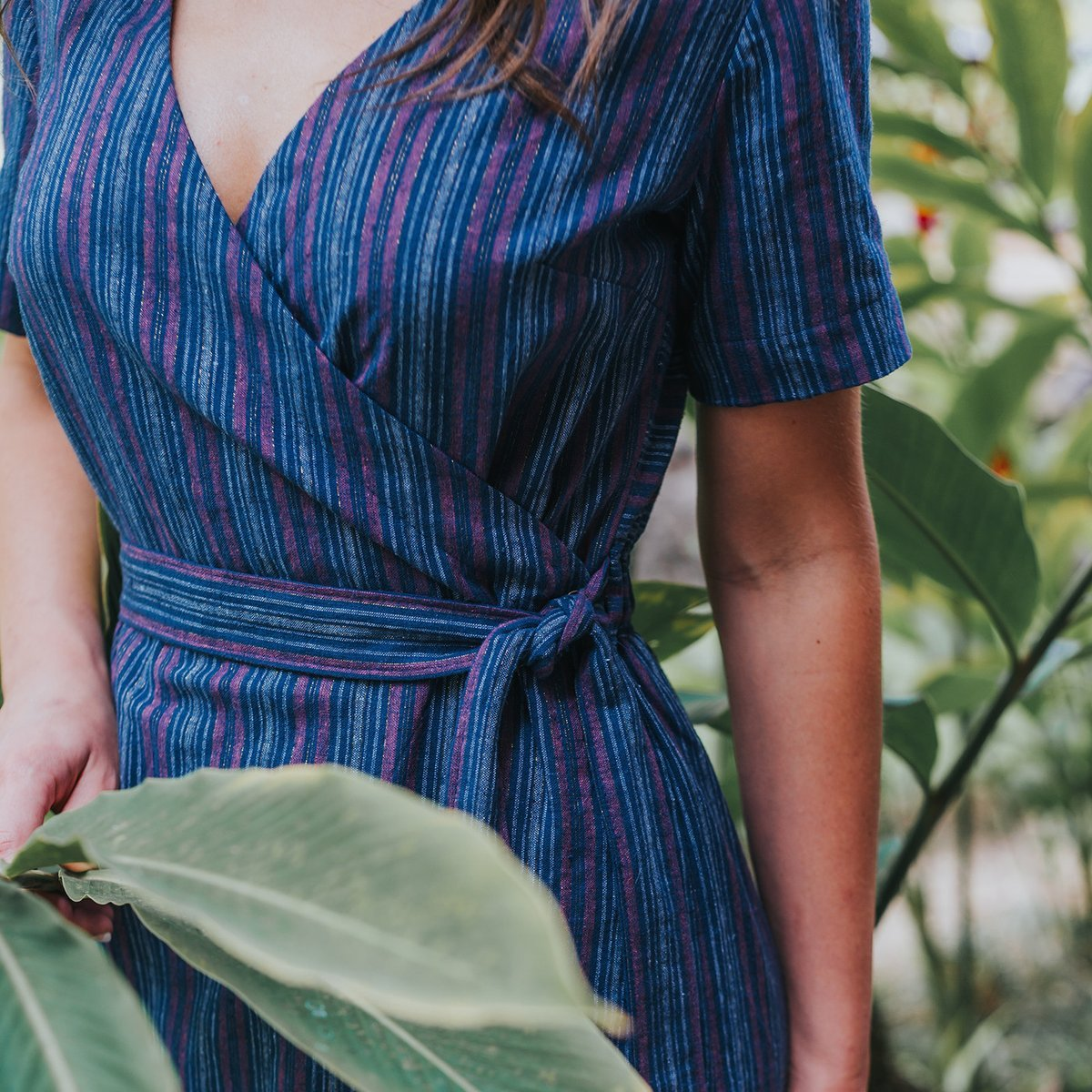 Allie Olson - Highlands Wrap Dress