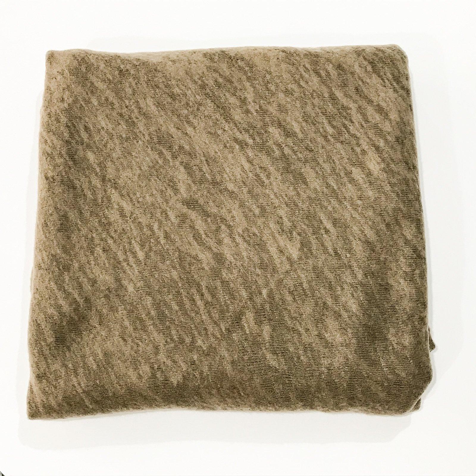 Slub Sweater Knit - Milk Chocolate- 2 yards
