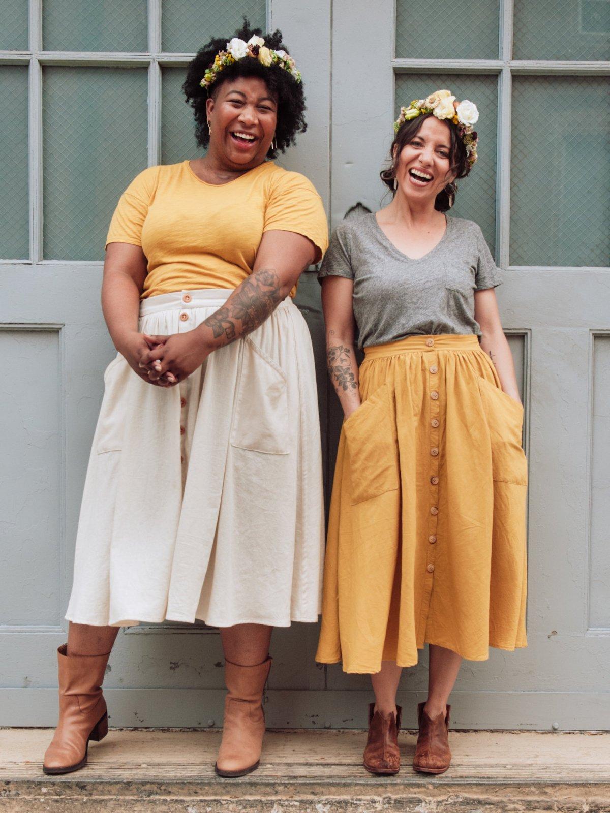 Sew Liberated - Estuary Skirt