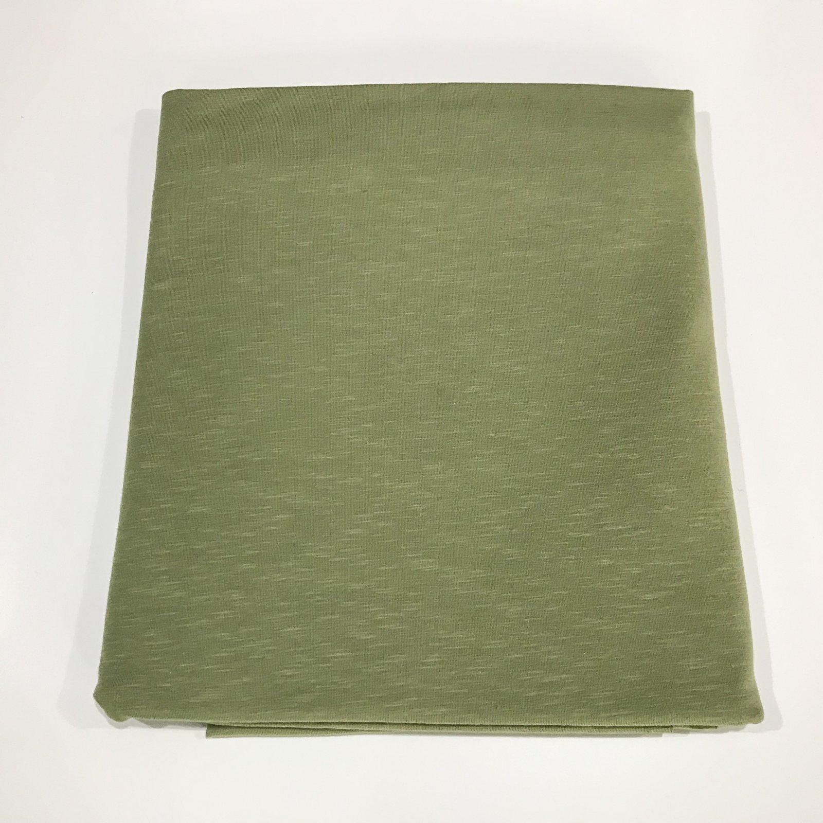 1 yard + 13 inches - Organic Cotton Jersey - Melange Sage