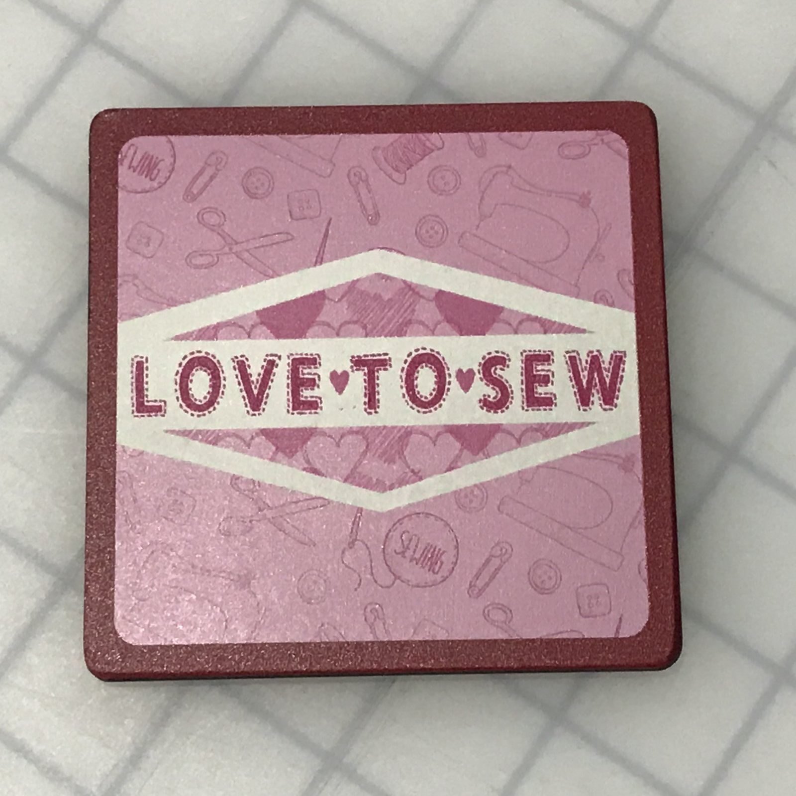 Coaster - Love to Sew