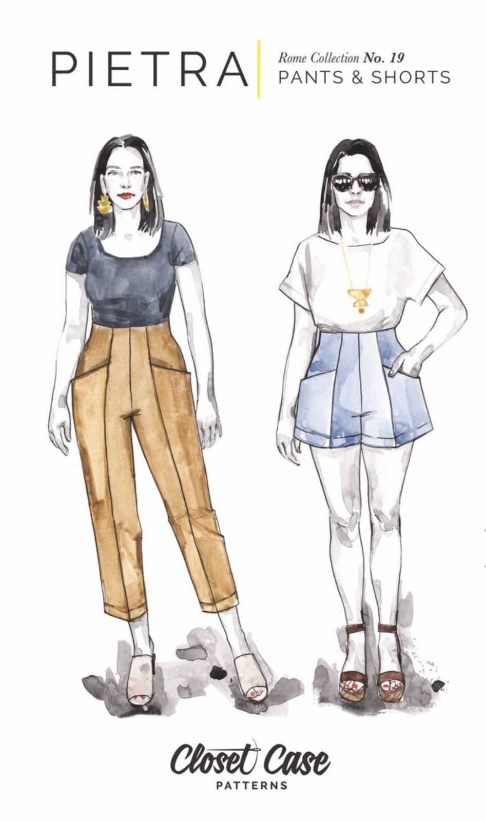 Closet Case - Pietra Pants & Shorts