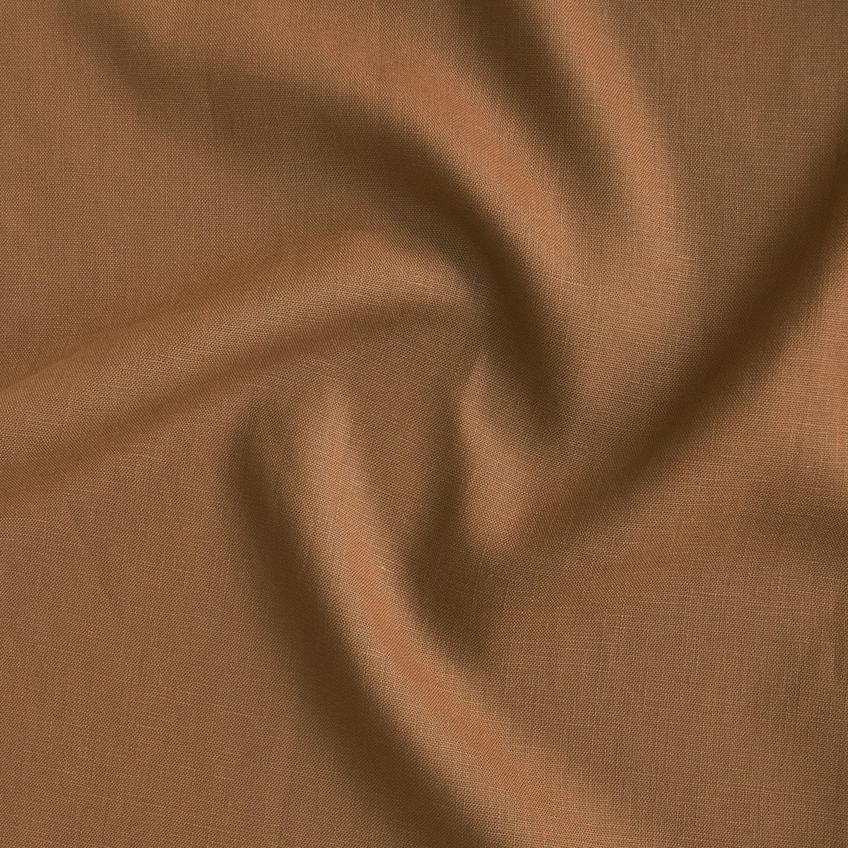 Mid-weight Linen - Tobacco