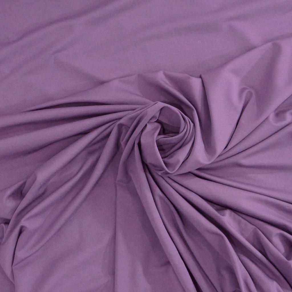 Bamboo Knit - Purple Jersey Knit
