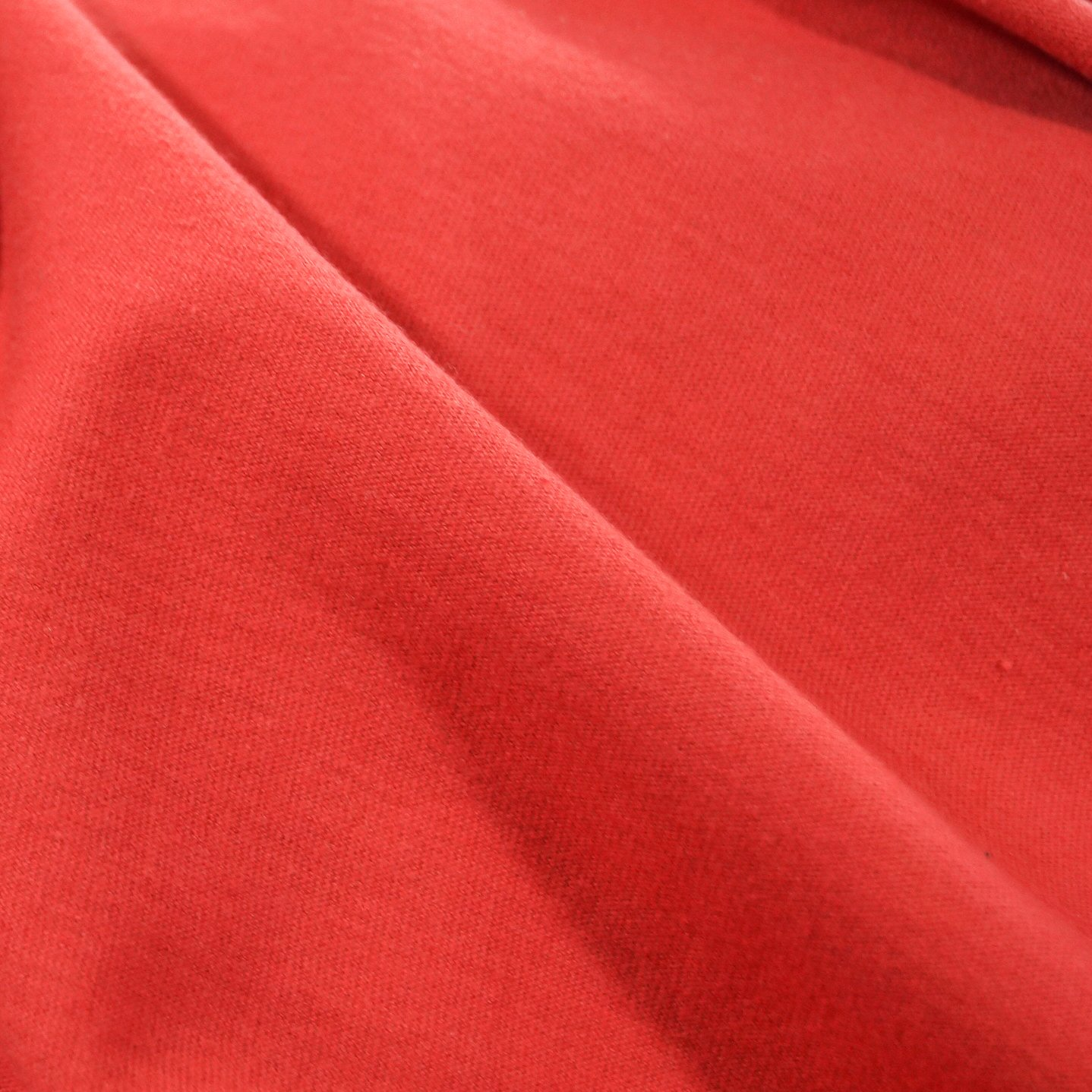 Jersey Knit - Rubi Red Organic