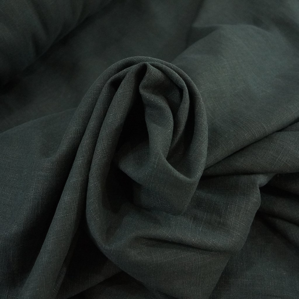 Soft Wash Linen - Black