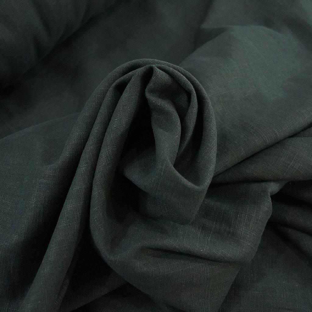 Soft Wash Linen - Black