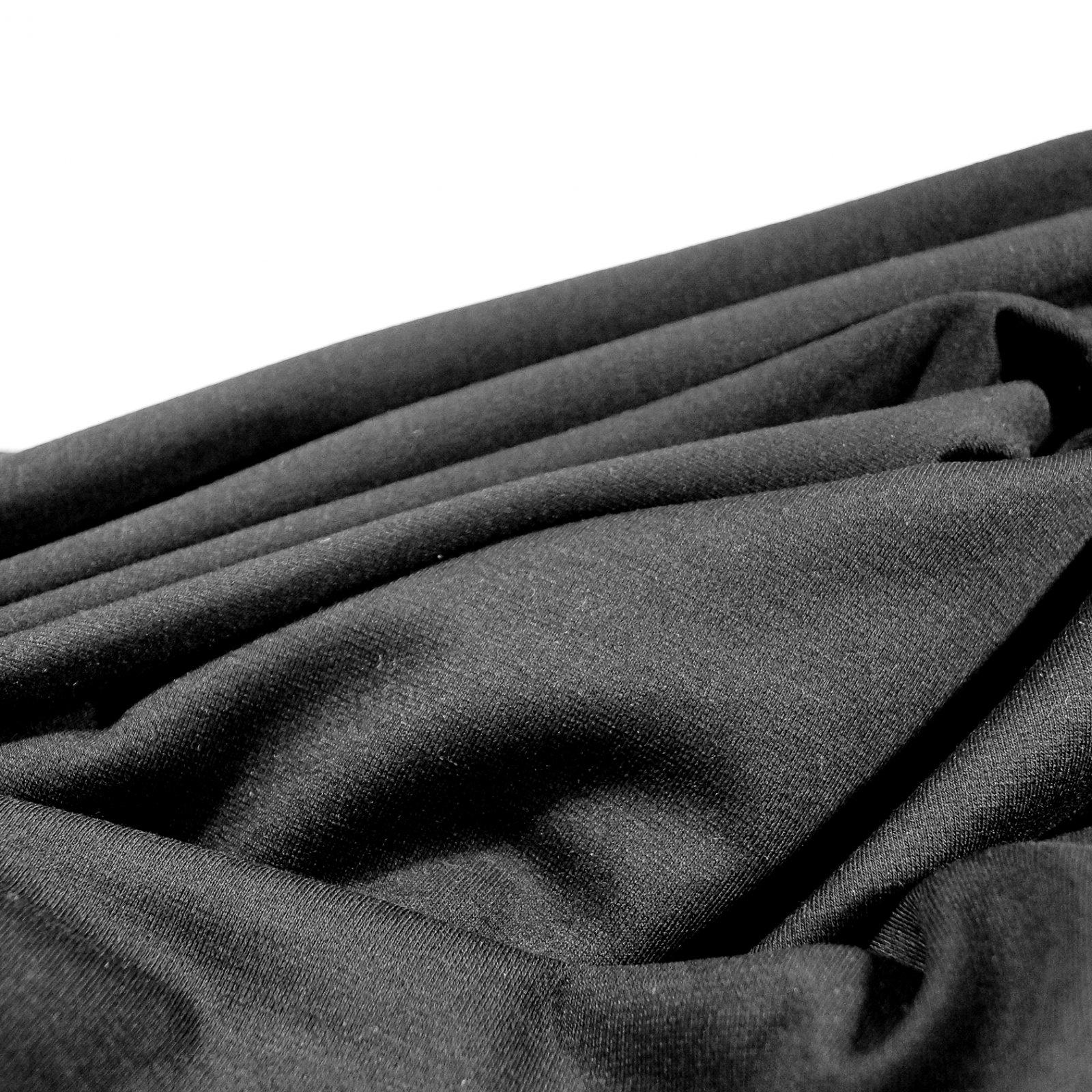 Knit - Black Ponte Knit