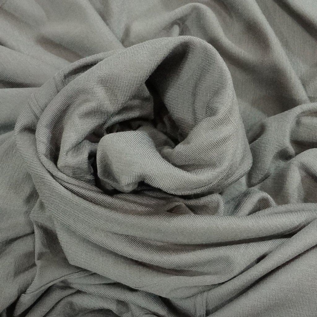 *Four Featured Fabrics: Viscose Jersey - Hygge Gray