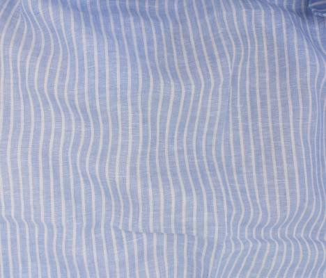 Linen Romsey Stripe - Blue