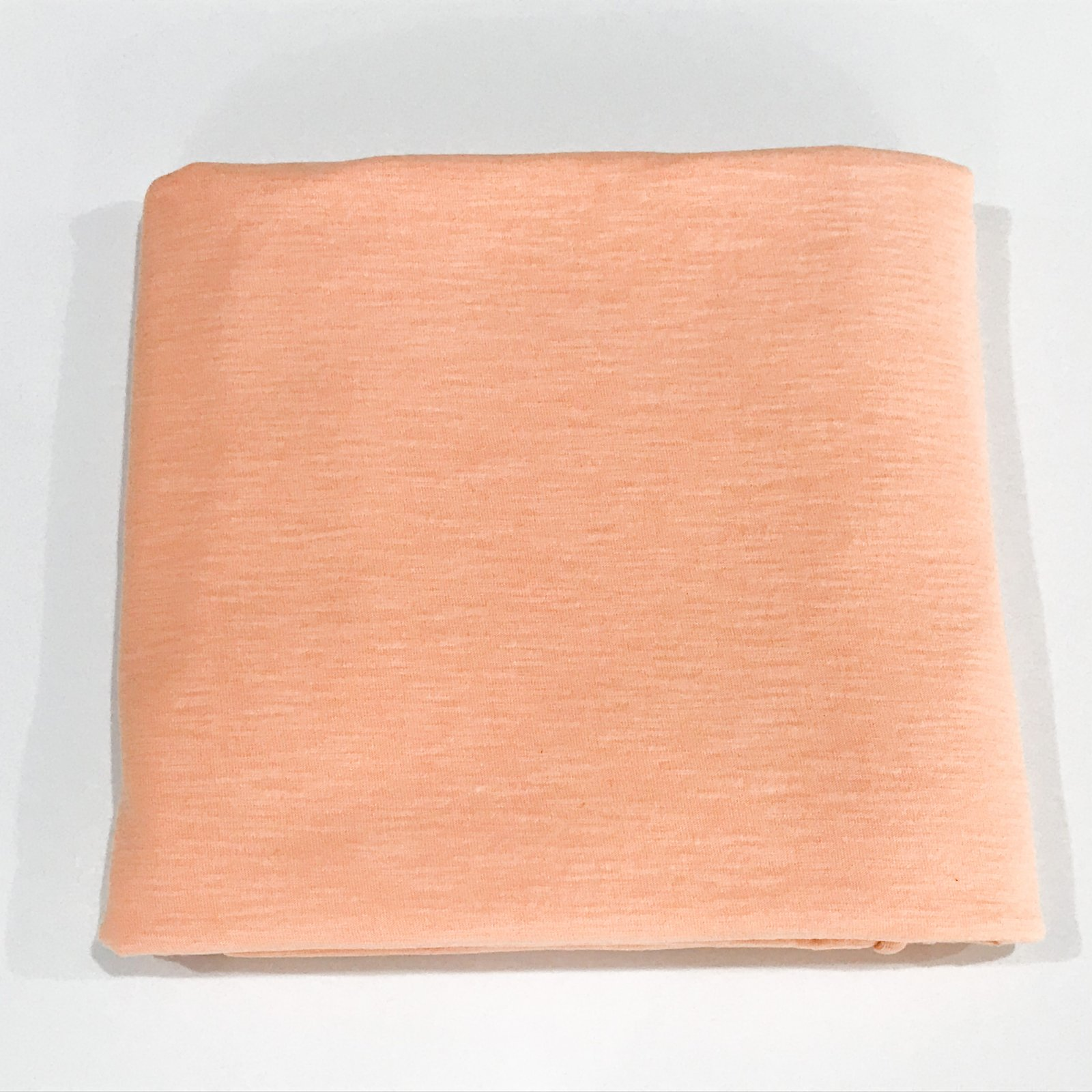 1 1/2 yards - Cotton Slub Knit - Organic Peach