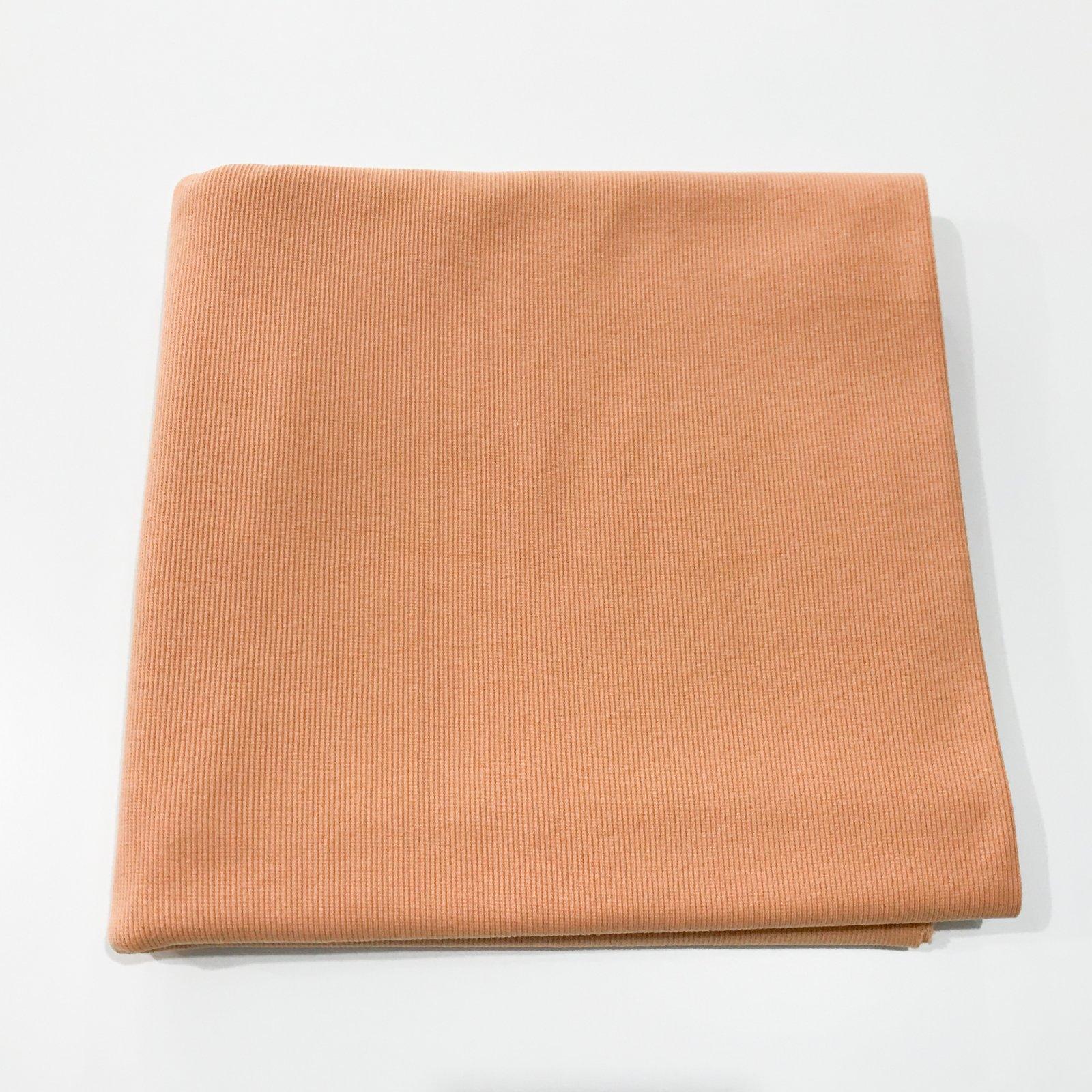 1 3/4 yards - Ribbing - Powder Brown (Clay)