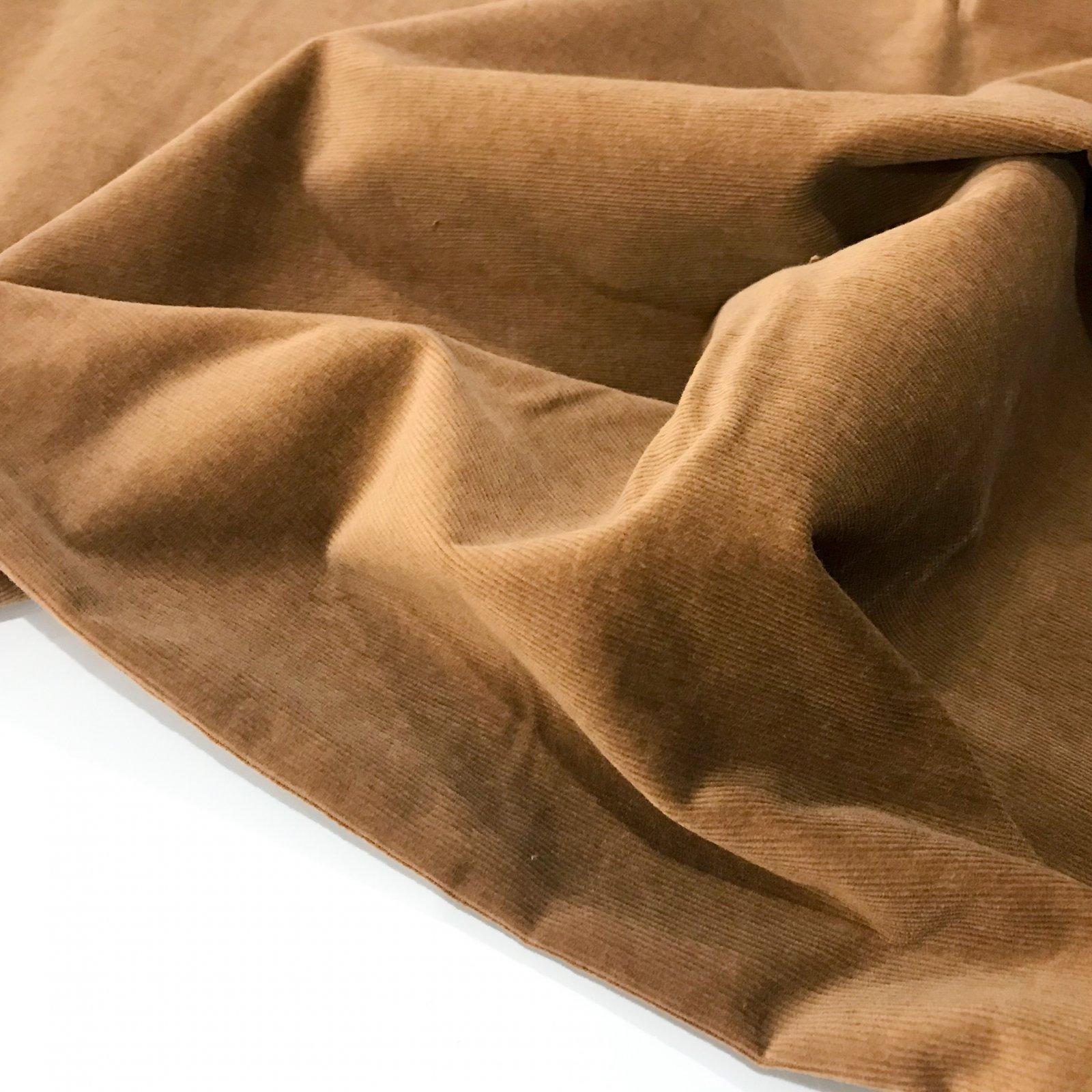 Cotton - Stretch 21 Wale Corduroy - Wood