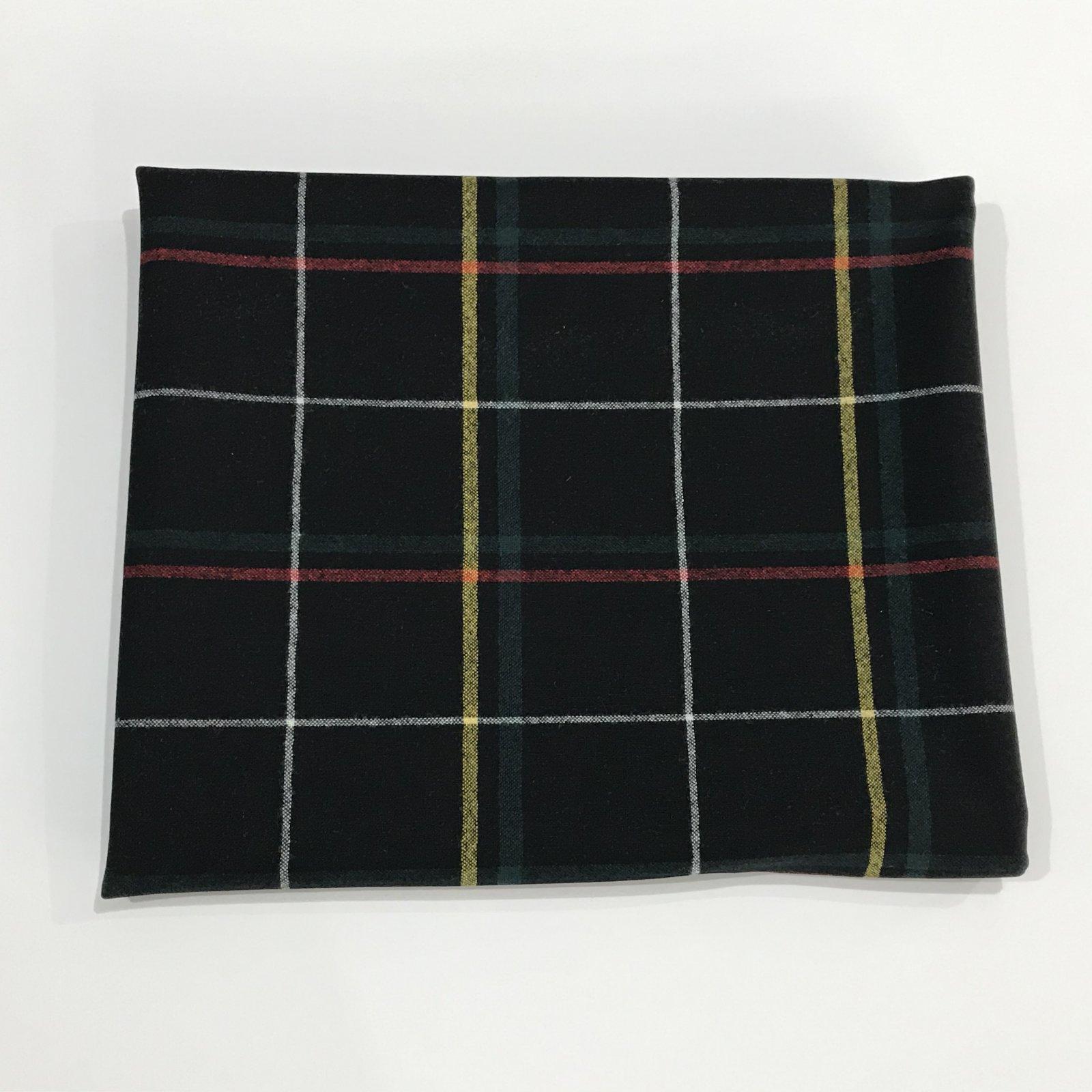 Pendleton (TM) Wool - Navy Window Pane - 1 3/8 yards