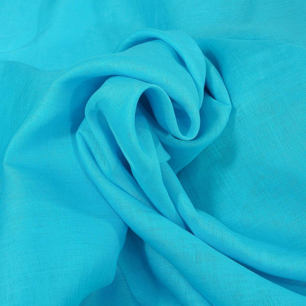 Elie Tahari Linen - Calm Sea Blue