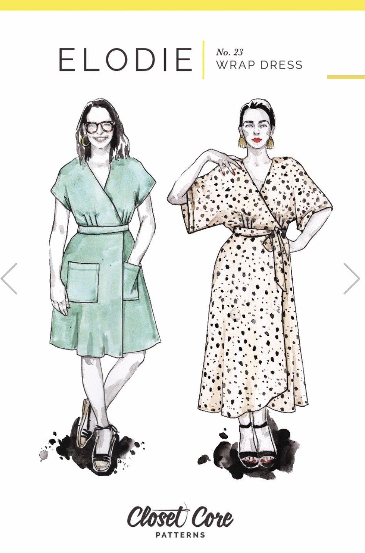 Closet Core - Elodie Wrap Dress