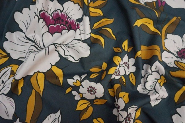 Cotton Lawn - Coleman Bouquet Gold